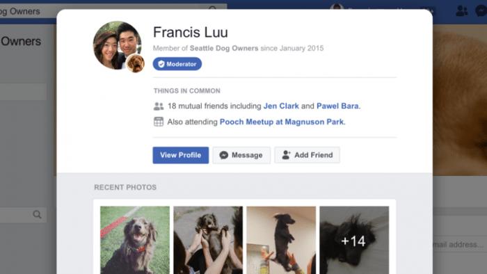 Facebook startet neue Funktionen für Gruppen-Verwaltung