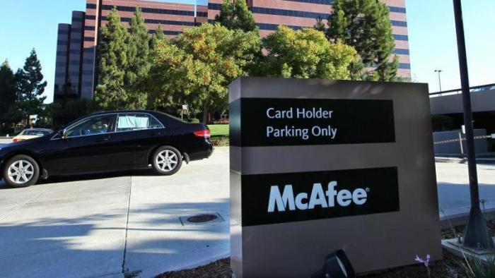 McAfee-Zentrale in Santa Clara