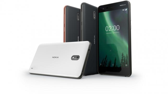 Kleines Billig-Smartphone Nokia 2
