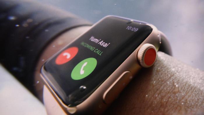 Apple Watch Series 3 mit LTE