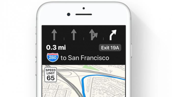 Apple Maps bringt Fahrspurassistent nach Deutschland