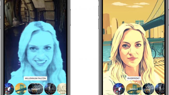 Clips-App von Apple mit 360-Grad-Selfies