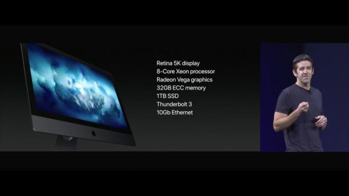 iMac Pro Vorstellung