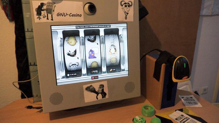 Open-Source-Spielautomat: das GNU-Casino