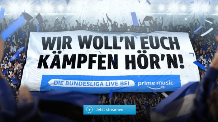 Amazon: Bundesliga soll überall zu hören sein