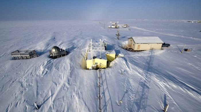 Wetterstation Barrow des NOAA Earth System Research Laboratory