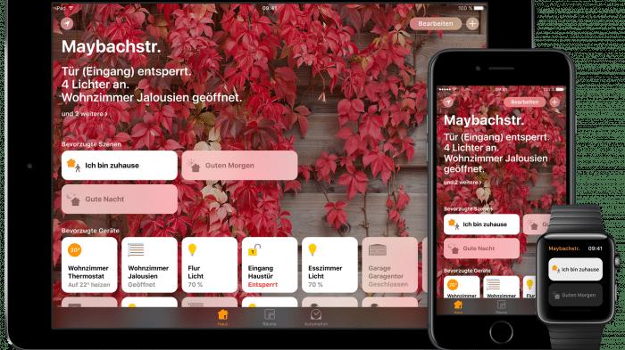 HomeKit-Remote-Lücke: iOS 11.2.1 bessert nach