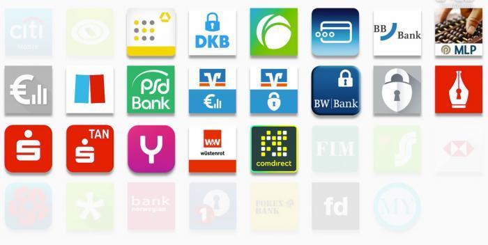 Diverse Banking-Apps waren vom Hack betroffen.