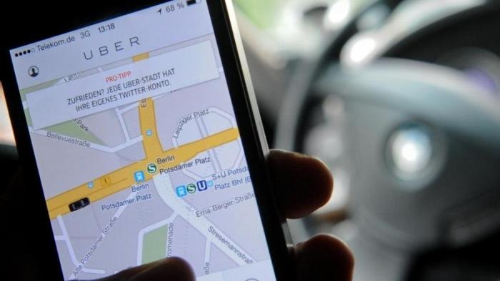 Fahrtvermittler Uber
