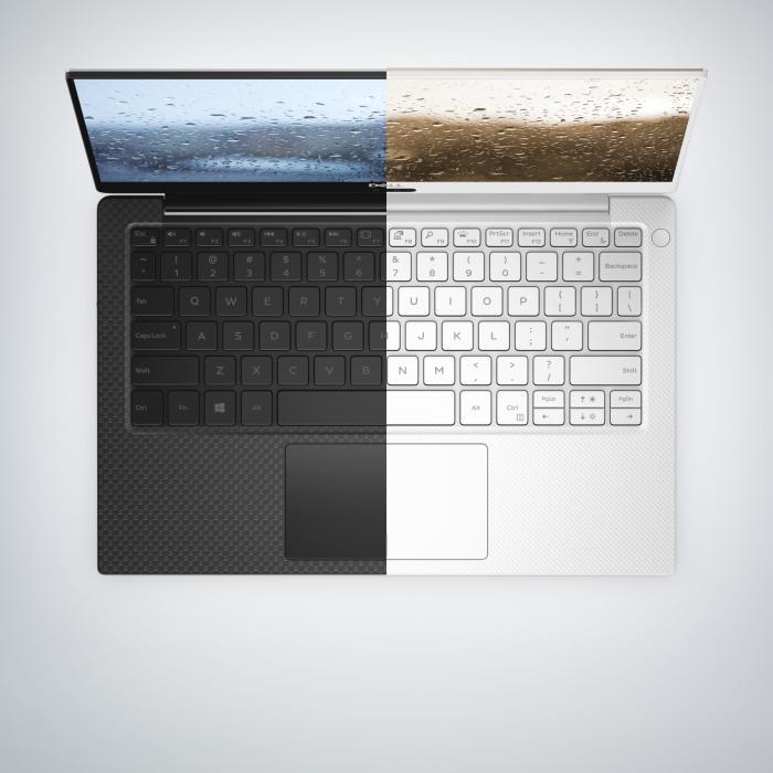 Dell bietet das XPS 13 bald mit schwarzem Kohlefaser- oder weißem Glasfasergeflecht an.