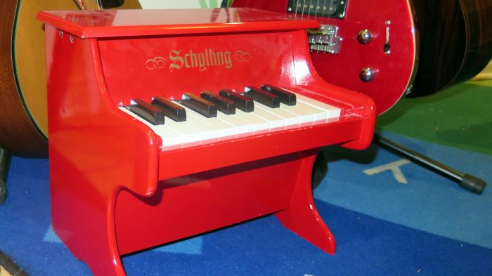 Winziges Piano