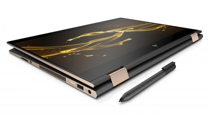 HP Spectre x360 15: 15-Zoll-Convertible mit Intel-AMD-Kombiprozessor