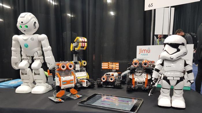Smarte roboter invasion der niedlichkeit heise online