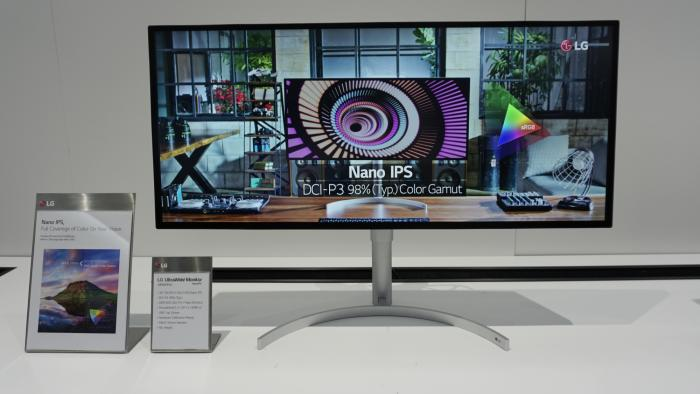 Der 34WK95U zeigt 5120 x 2160 Bildpunkte, also 5K-Auflösung, und ist  Hardware-kalibrierbar.