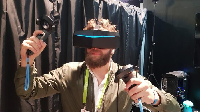 VR-Headset Pimax 8K ausprobiert: Schön scharf, aber ansonsten nicht so schön