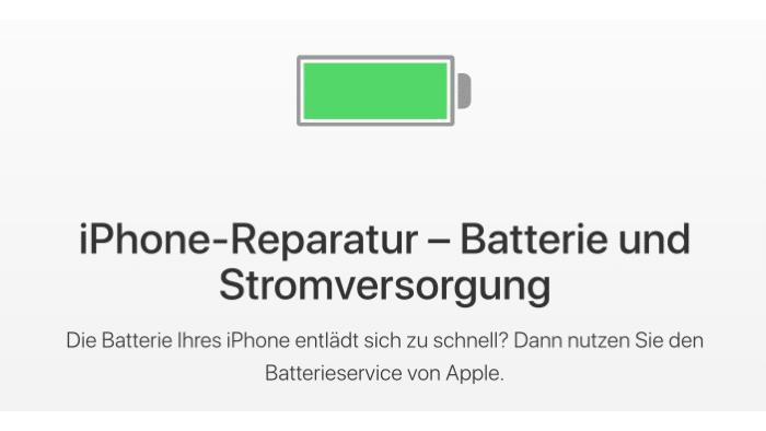 Apple vereinfacht iPhone-Akkutausch – etwas