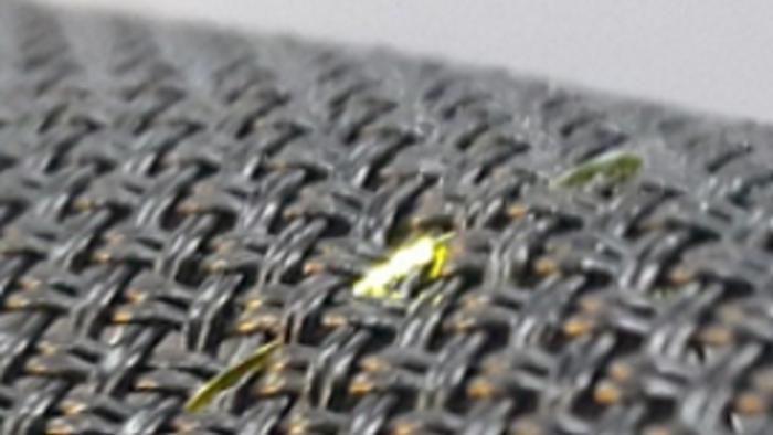 Selbstleuchtendes OLED-Garn