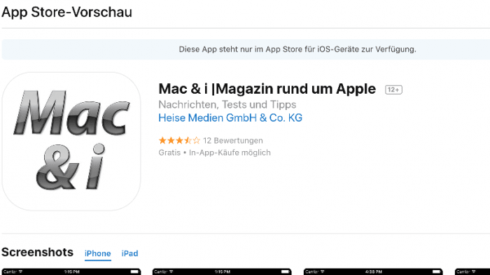 App Store in iTunes kommt wohl nicht zurück