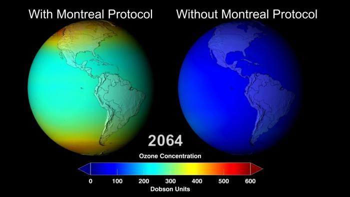 Ozonschicht wird nicht überall dicker, schrumpft zum Teil doch weiter
