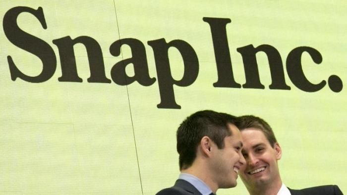 Snapchat kommt aus dem Knick