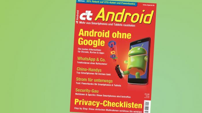 c't Android jetzt online bestellbar