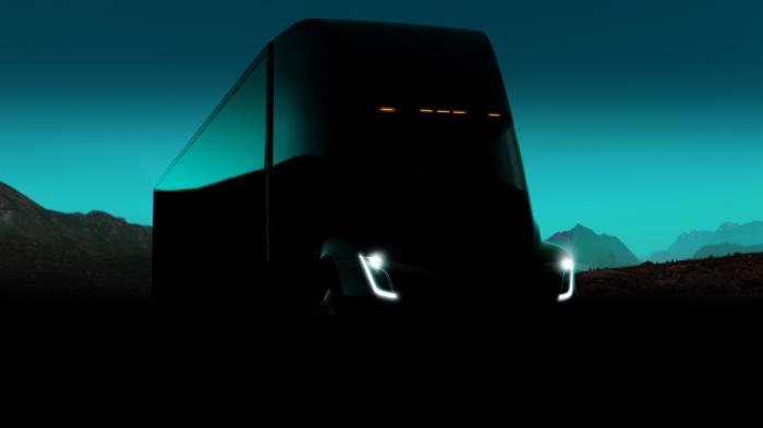 Elon Musk will 100.000 Tesla Elektro-Lkw Semi jährlich produzieren