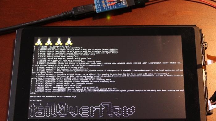 Hacker booten Linux auf Nintendo Switch