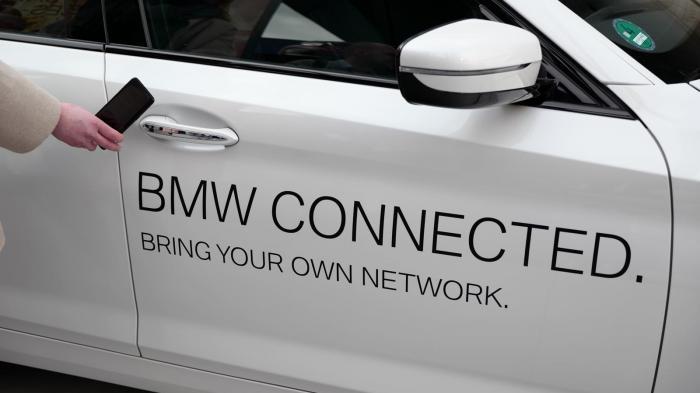 BMW stelt digitalen Autoschlüssel vor
