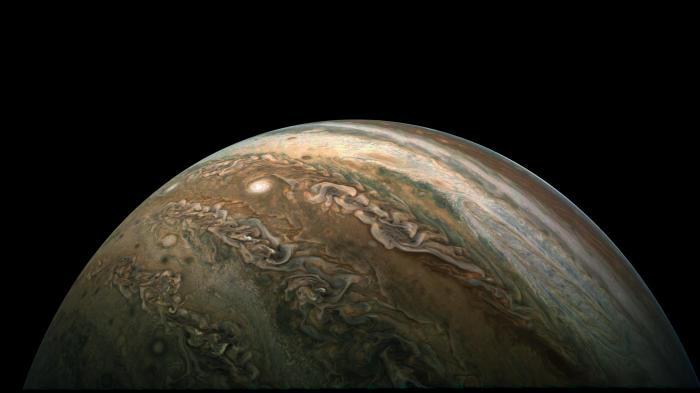 Jupiter: Raumsonde Juno beobachtet Sturm-Karussell an den Polen