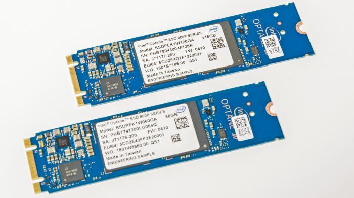 Intel: M-2-SSDs mit Optane-Speicher