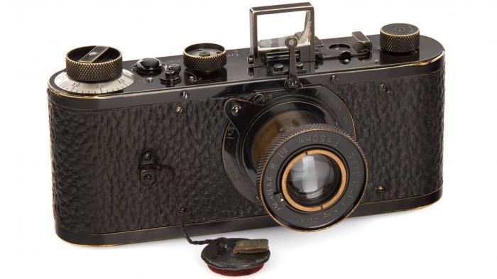 Leica-Kamera für 2,4 Millionen Euro versteigert