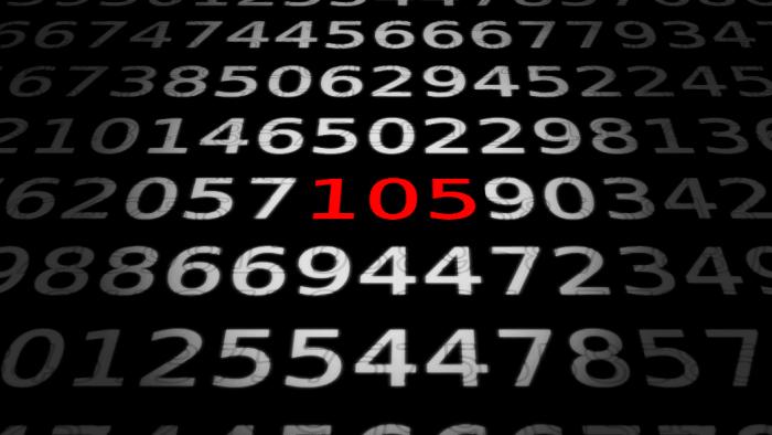 Zahlen bitte! 105 Tasten zum Tippen