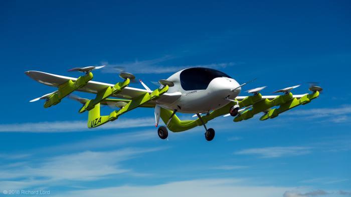 Kitty Hawk Cora_ Google-Mitgründer zeigt seine elektrischen Lufttaxis