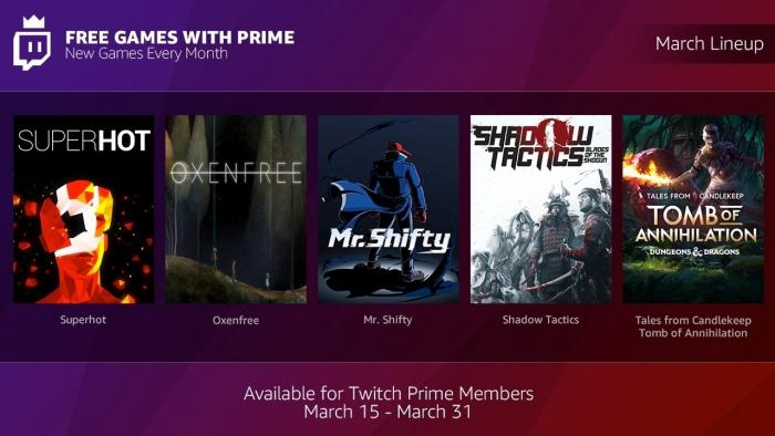 Kunden von Amazon Prime bekommen über Twitch monatlich PC-Spiele geschenkt