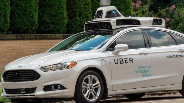 Roboterwagen von Uber