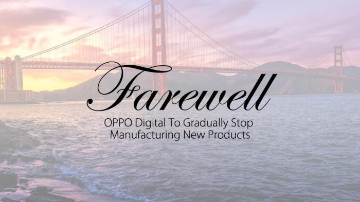 Aus für edle UHD-Blu-ray-Player: Oppo stellt Entwicklung und Produktion ein