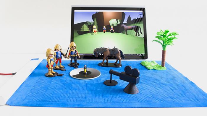 Project Zanzibar: Microsofts interaktive Spiel- und Lernmatte