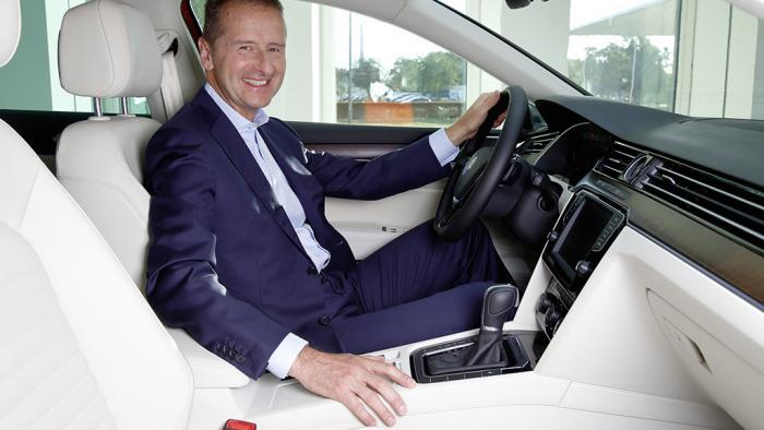 Umbau bei Volkswagen: Markenchef Diess soll CEO Müller beerben