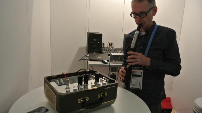 Musikmesse: Röhren-Synthesizer für Saxophonisten