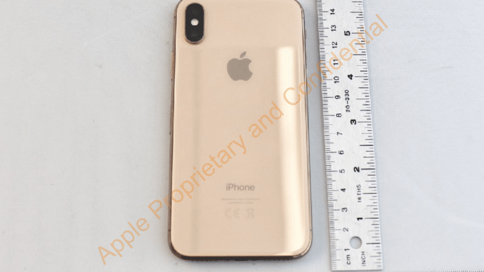 iPhone X in Gold