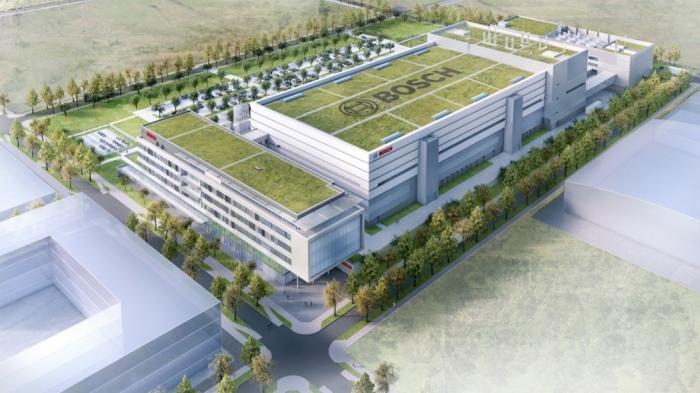 """""""Halbleiter sind die Zukunft"""": Baubeginn für Boschs neuer Chip-Fabrik"""