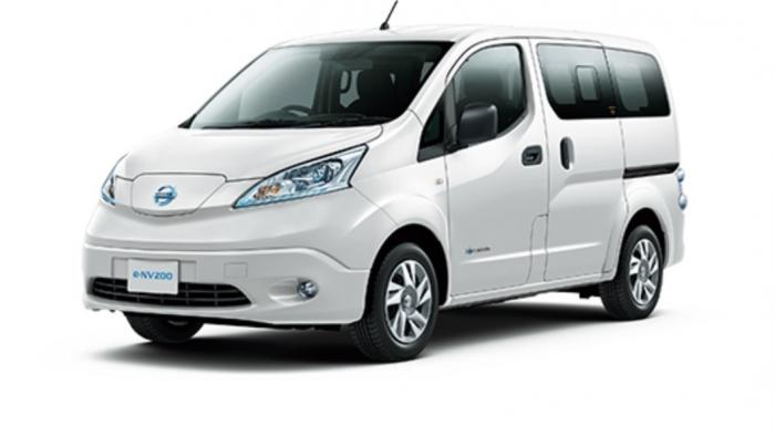 Nissans Elektro-Van e-NV200 bekommt mehr Reichweite