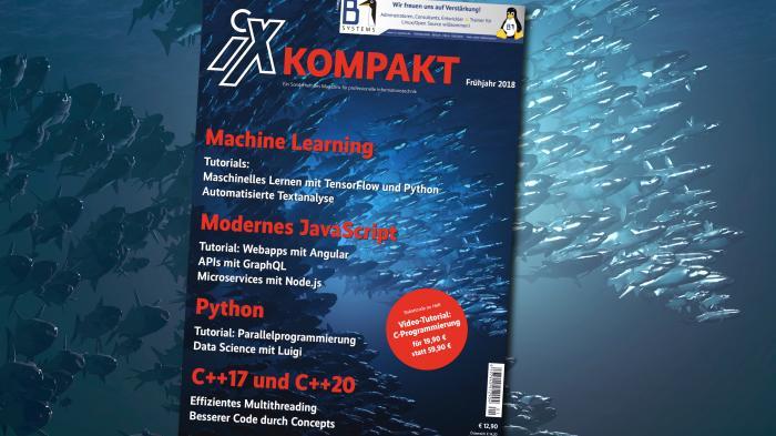 iX kompakt 2018: Programmieren heute – von JavaScript bis Machine Learning