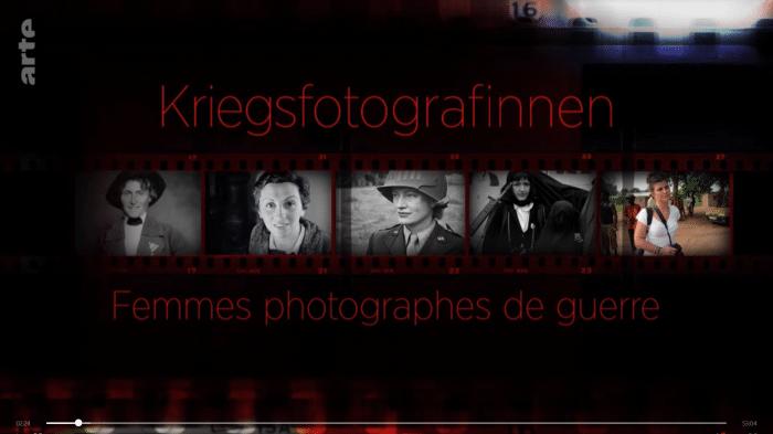 Mediathek-Tipps zum Thema Fotografie: Kriegsfotografinnen