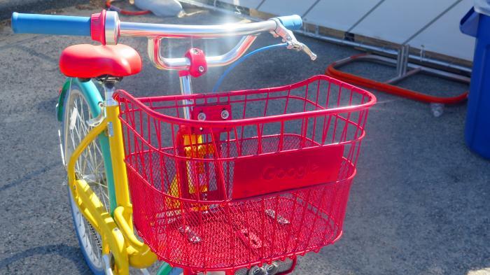 Google-Fahrrad