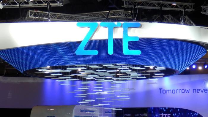 ZTE-Stand auf dem MWC 2015.
