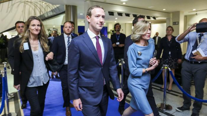 """Kritik an Zuckerberg in Brüssel: """"Das war zu kurz, das war zu flach"""""""