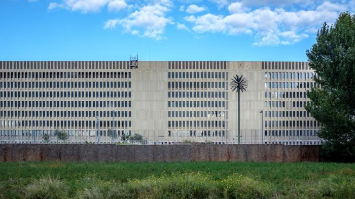 Die neue Zentrale des BND in Berlin-MItte