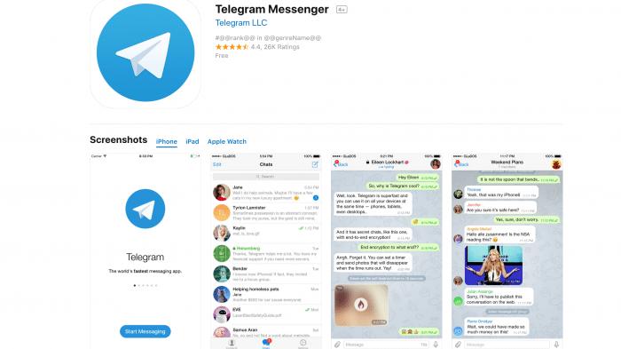 Telegram: DSGVO-Anpassungen wegen Apple-Blockade nicht möglich