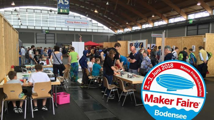 Maker Faire Bodensee Logo 2018